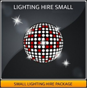 LIGHTING HIRE SMALL