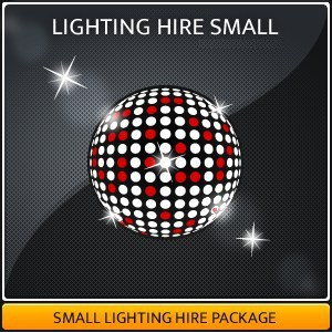 A Small Party Lighting Package For Hire