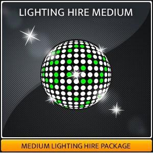 LIGHTING HIRE MEDIUM