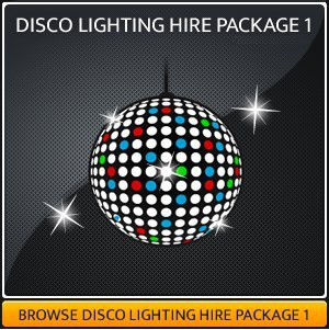 DISCO LIGHTING HIRE PACKAGE