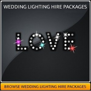 WEDDING LIGHTING HIRE