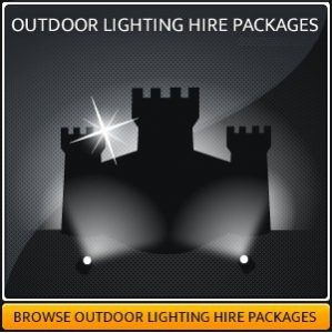 OUTDOOR LIGHTING HIRE
