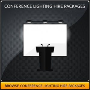 conference lighting equipment hire London