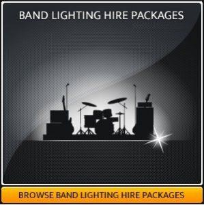 Hire band lighting equipment in Surrey
