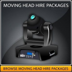 MOVING HEAD HIRE PACKAGES