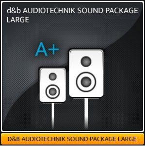 d&b AUDIOTECHNIK SOUND SYSTEM LARGE