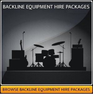 Backline Equipment Hire