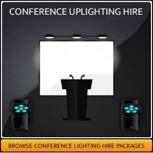 CONFERENCE UPLIGHTING HIRE