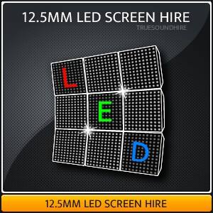 12.5mm LED Video Wall Hire Packages