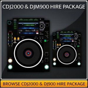 Hire a DJM900 & CDJ2000 Setup