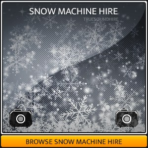 Snow Machine Hire