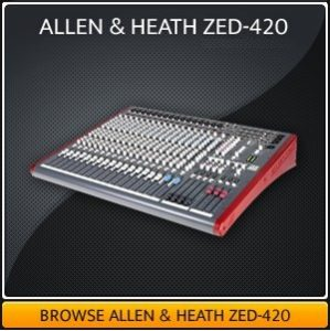 Allen & Health Mixing Desk