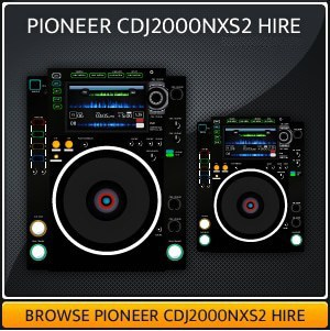 Hire a Pioneer CDJ2000NXS2 in London