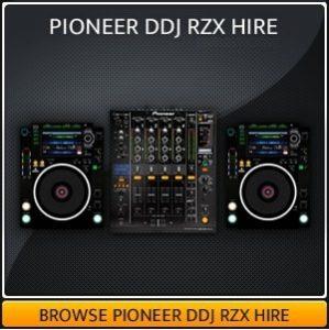 Hire a Pioneer DDJ Dj Controller