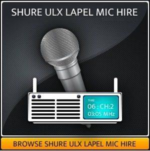 Hire a wireless lapel radio mic in Surrey
