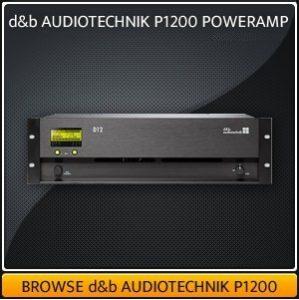 d&b Audiotechnik D12 Amp Hire UK