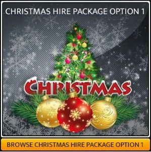 Christmas Party Lighting Package