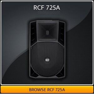 RCF 725A Hire