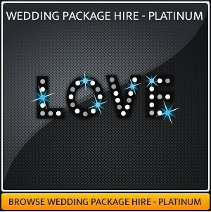 Wedding Lighting Hire package
