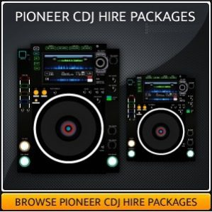 Pioneer CDJ Hire Package