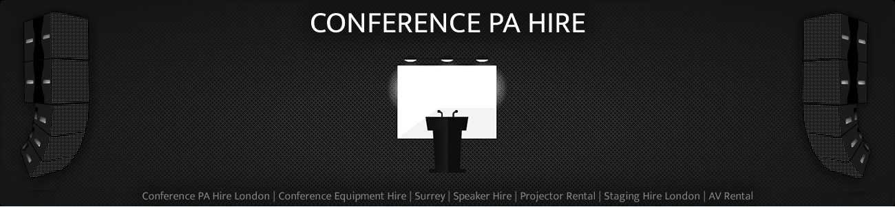Conference PA Equipment Hire