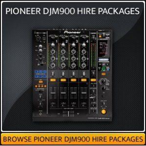 Pioneer DJM900 Mixer Hire