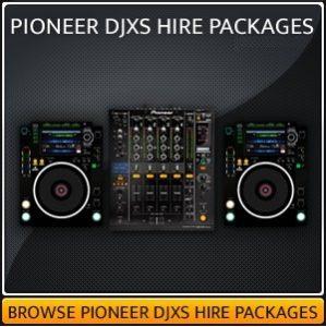 Hire a DJXS Setup