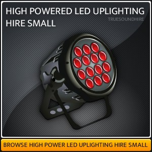 High Powered LED Uplight HIre Packages Small