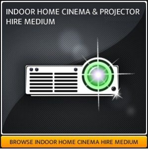 Home Projector & Screen Hire Package