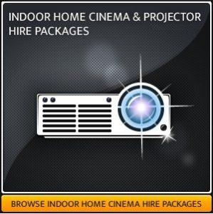 AV Projector & Screen Hire Equipment