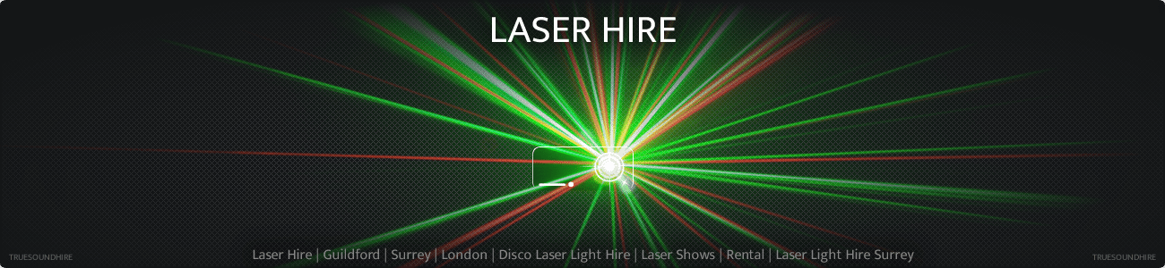 Laser Hire | Guildford | Surrey | London | Disco Laser Light Hire | Laser Shows | Rental | Laser Light Hire Surrey