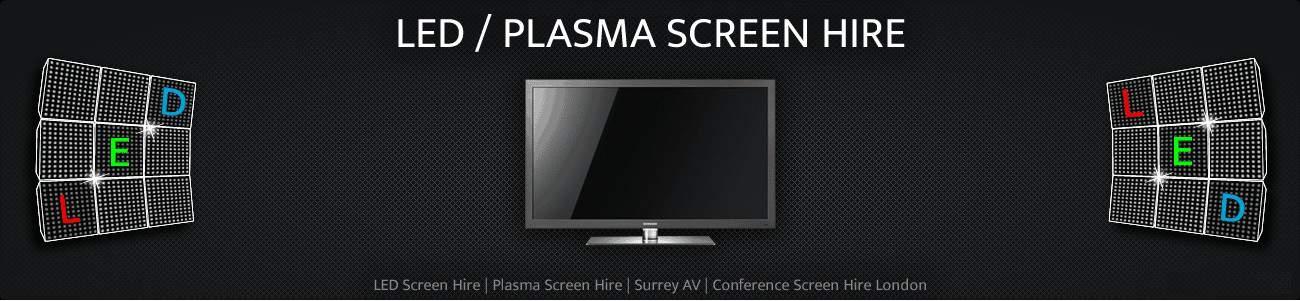 LED Screen & LED TV Hire