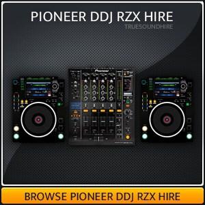 Pioneer DDJ RZX Hire