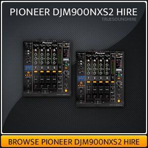 Pioneer DJM900NXS2 Hire