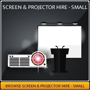 AV projector & screen hire package in Surrey