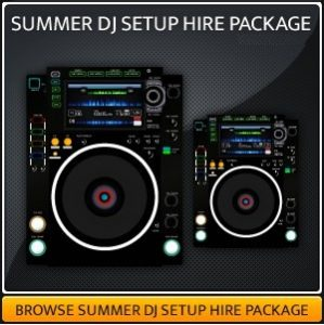 Dj Equipment Hire Package